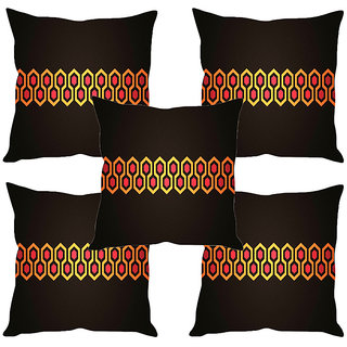 Sleep NatureS Pattern Printed Cushion Covers Set Of Five