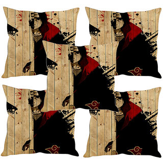 Sleep NatureS Abstract Art Printed Cushion Covers Set Of Five
