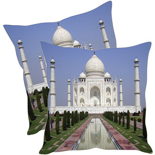 Sleep NatureS Taj Printed Cushion Covers Pack Of 2
