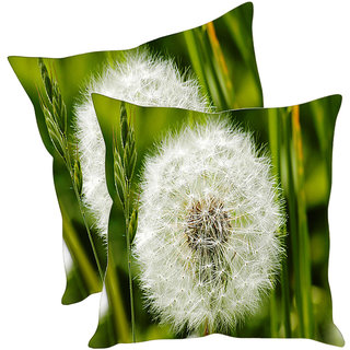 Sleep NatureS Flower Printed Cushion Covers Pack Of 2