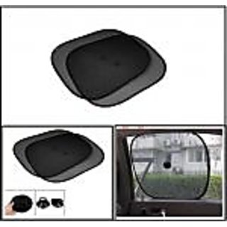 car auto side window mesh sun shade 2 pieces at best prices shopclues online shopping store. Black Bedroom Furniture Sets. Home Design Ideas