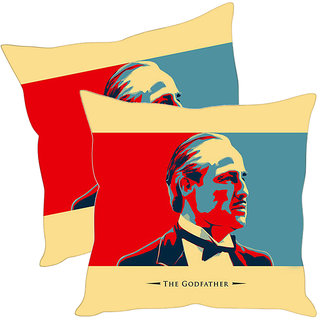 Sleep NatureS The Godfather Printed Cushion Covers Pack Of 2