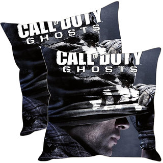 Sleep NatureS Call Of Duty Printed Cushion Covers Pack Of 2