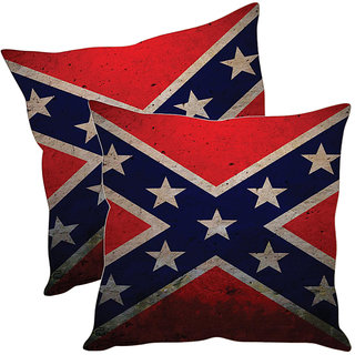 Sleep NatureS Flag Printed Cushion Covers Pack Of 2