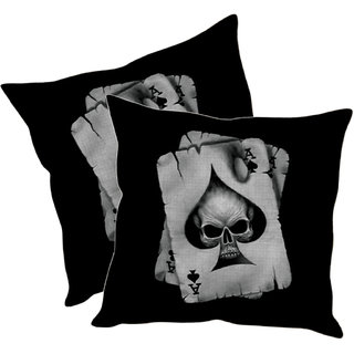 Sleep NatureS Card Printed Cushion Covers Pack Of 2