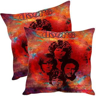 Sleep NatureS Doors Printed Cushion Covers Pack Of 2