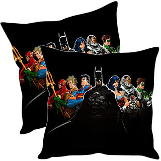 Sleep NatureS Super Humans Printed Cushion Covers Pack Of 2