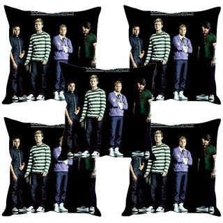 Sleep NatureS Boys Printed Cushion Covers Set Of Five