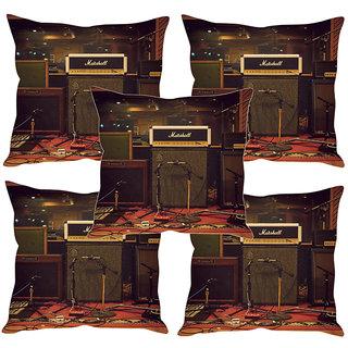 Sleep NatureS Marshall Printed Cushion Covers Set Of Five