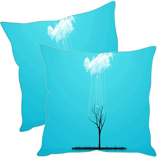 Sleep NatureS Free Printed Cushion Covers Pack Of 2