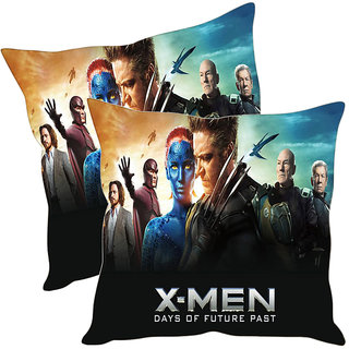 Sleep NatureS X Man Printed Cushion Covers Pack Of 2