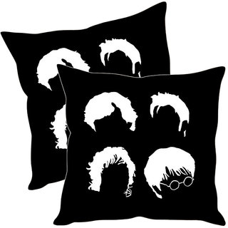 Sleep NatureS Abstract Printed Cushion Covers Pack Of 2