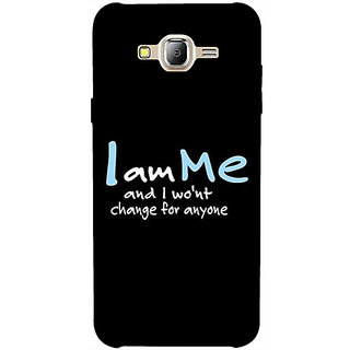 Casotec Quotes Design 3D Printed Hard Back Case Cover for Samsung Galaxy J2 (2016)