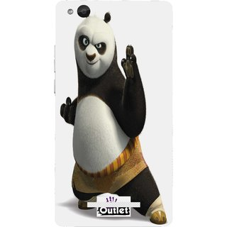 HI5OUTLET Premium Quality Printed Back Case Cover For Gionee Gpad G4 Design Alpha 71