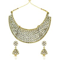 Zaveri Pearls Mesmerising Traditional Necklace Set - ZPFK5248