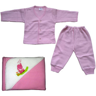 baby tharmal dress with blanket