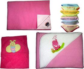 baby medium drymate sheet,velvety blaket,baby soft towel and face towel