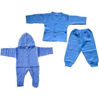 baby tharmal dress with baby cotton grow