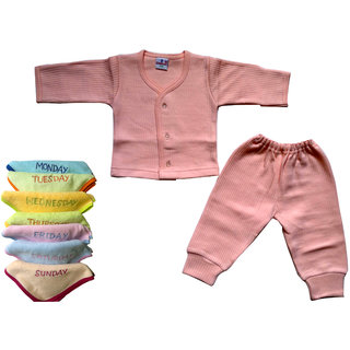 baby tharmal dress and baby soft face towel
