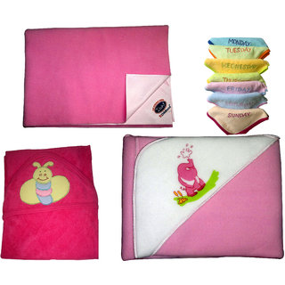 baby medium drymate sheet,velvety blaket,baby soft towel and face towel