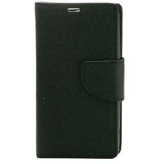 YGS Premium Diary Wallet Mobile Case Cover For Motorola Moto G 3rd Gen-Black