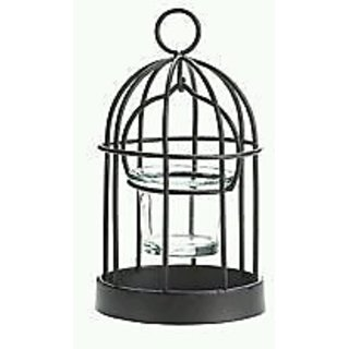 Hanging Candle Cage.