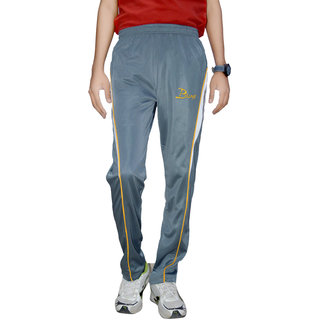 Bumps Grey Mens Track Pant