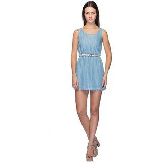 Tarama Light Blue Dress For Women