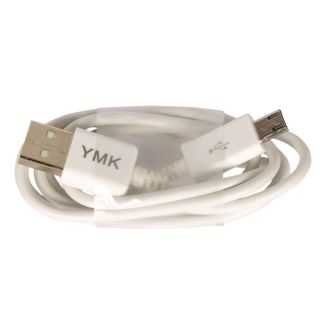 YMK Micro USB to USB High speed data transfer and Charging Cable for BlackBerry Bold 9790