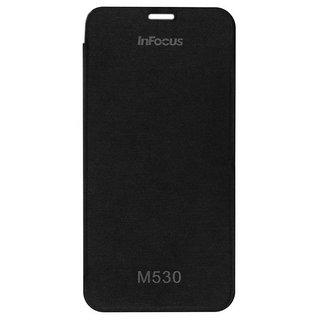 kanish  Flip Cover Case for Infocus M530 -Black