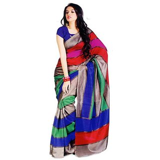 TIANA MULTI COLOR BHAGAL PURI CASUAL WEAR SAREE