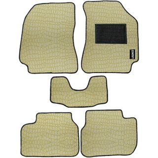 Leganza Camel Custom-made PU Carmats for Volkswagen Polo