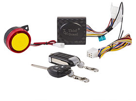 HRU Anti-theft Security System Alarm With Folding Key For All Bikes
