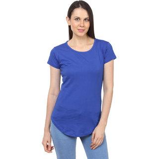 SayItLoud Womens Solid Half Sleeve T shirt