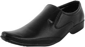 Austrich Black Men Formal Shoes