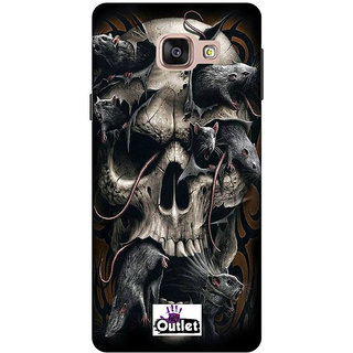 HI5OUTLET Premium Quality Printed Back Case Cover For SAMSUNG GALAXY A5 (2016) EDITION Design Alpha 35