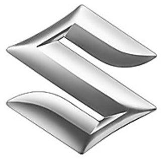 Logo Suzuki Celerio Rear  Monogram Emblem Chrome Dicky Rear Monogram S Monogram