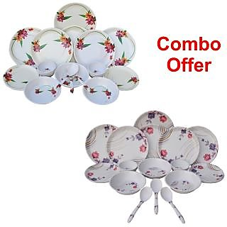 Czar Combo of 1011 Dinner set with 1004