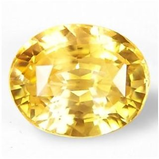 Awesome 7.25 ratti Natural Yellow Sapphire