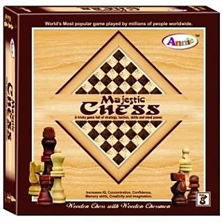 Blue Lotus Annie Majestic Chess Board Game