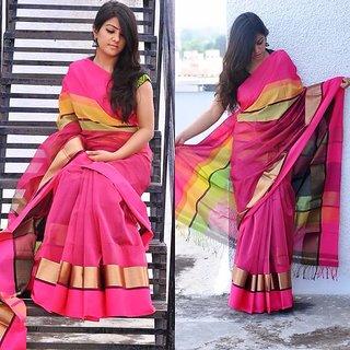 Chanderi Maheshvari silk sarees