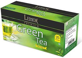 Green Tea with Honey 25 tea bag box