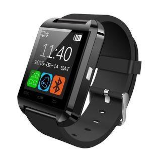 U8 Bluetooth Smart Watch (Black)
