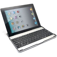 New Generation Built In Bluetooth Aluminum Keyboard Case For Apple Ipad 2 3