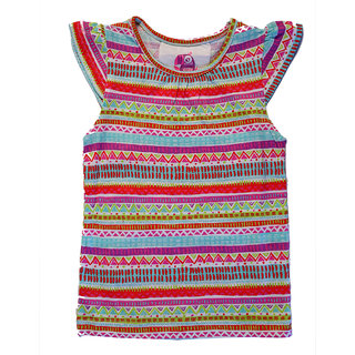 Chic Aztec Printed Casual Top