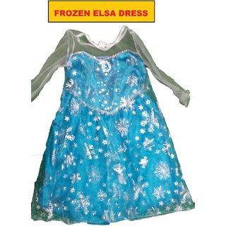 Frozen Elsa Fancy Dress Costume For Kids