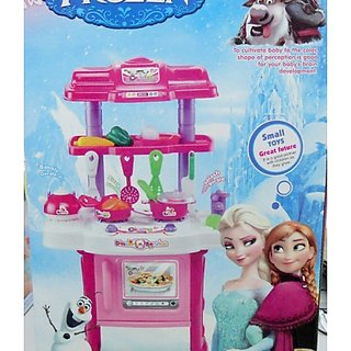 Toy Frozen Kitchen Set 30 Peices From Amayra Store
