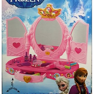 Toy Frozen Luxurious Dresser Table Play Set By Amayra Store