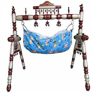 Buy Baby Cradle Wooden Baby Cradle Ghodiya Folding Cradle Baby Swing  Hastakala Bazaar Online - Get 55% Off 5df933ecc