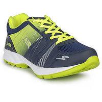 Leedas Mens Blue And Green Sport Shoes